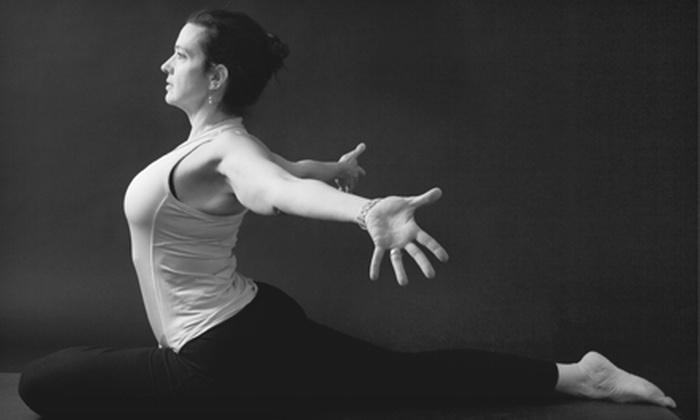 Amba Yoga - St. James: 10 or 20 Hatha Yoga Classes at Amba Yoga (Up to 77% Off)