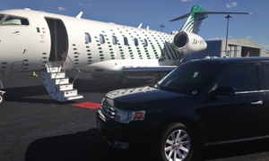 The Towncar Chauffeur: $60 for Two Hours of Black Car or Black SUV Service from The Towncar Chauffeur ($120 Value)