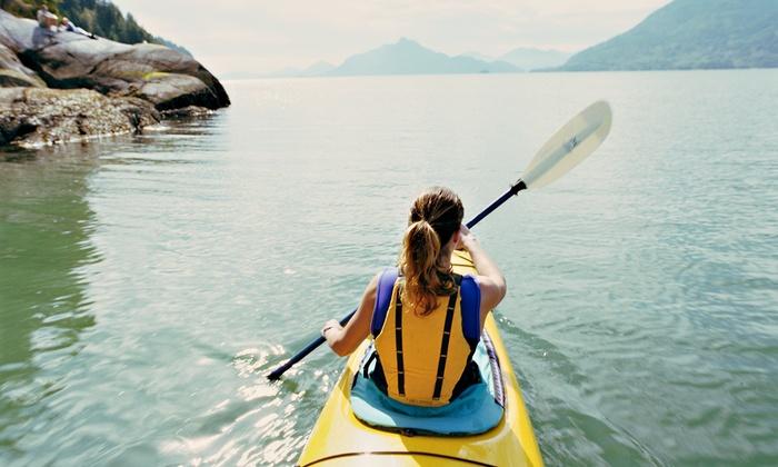 Ozarks Extreme Outdoors Kayak and Canoe Company - Ozarks Extreme Outdoors Kayak and Canoe Co.: CanoeRental for 2 or Kayak Rental for 1from Ozarks Extreme Outdoors Kayak and Canoe Company (Up to 46% Off)