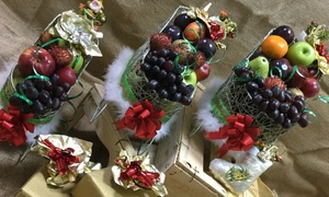 Fresh Culture: Small, Medium or Large Fruit Basket from Fresh Culture
