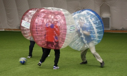 Up to 51% Off A Game of Bubble Soccer at Bubble Soccer Halifax