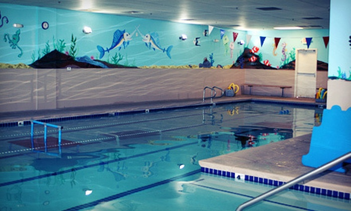 Water Wings Swim School - Multiple Locations: Four or Eight Classes with Tote Bag at Water Wings Swim School (Up to 55% Off)