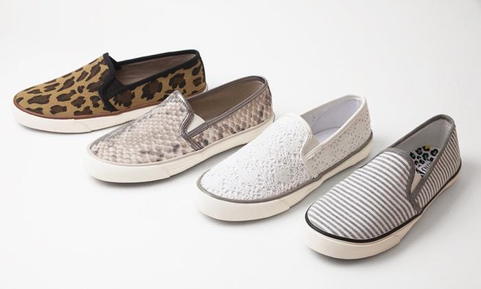 XOXO Velma Women's Slip-On Sneakers: XOXO Velma Women's Slip-On Sneakers. Multiple Styles and Sizes Available. Free Returns.