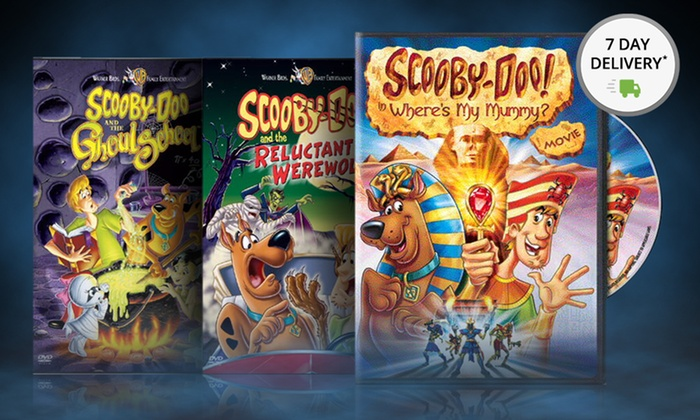 Scooby-Doo Halloween DVD 3-Packs | Groupon Goods