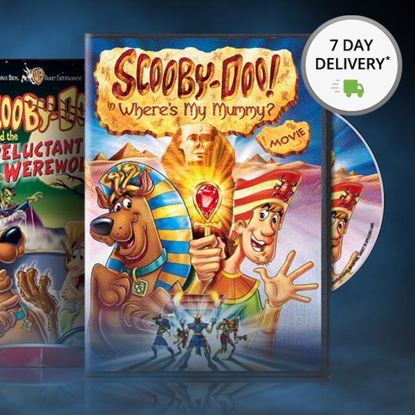 Scooby Doo Halloween Dvd 3 Packs Groupon Goods