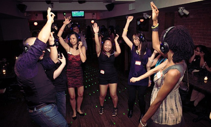 Quiet Events - New York City: One or Two Tickets to a Quiet Clubbing Party from Quiet Events (Up to 62% Off)