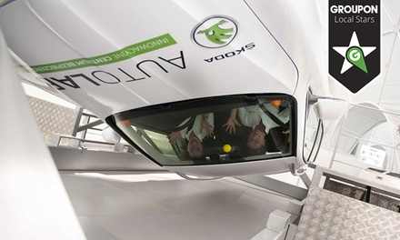 2 bilety wstępu do interaktywnego Centrum Bezpieczeństwa Škoda AutoLab za 8 zł i więcej opcji (do -55%)