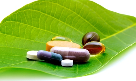 Vitamins, Supplements, and Health Products at Whole Nutrition & Health (50% Off). Two Options Available.