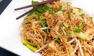 Thai Cuisine: Thai Lunch or Dinner for Two at Thai Cuisine (35% Off)