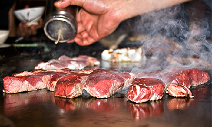 Kabuto Japanese Steak Seafood & Sushi - Goodlettsville: Japanese Hibachi Dinners and Sushi at Kabuto Japanese Steak Seafood & Sushi (Half Off)