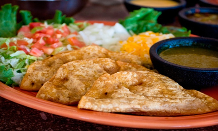 Ricky's Cafe - Multiple Locations: $10 for $20 Worth of Mexican Fare at Ricky's Cafe
