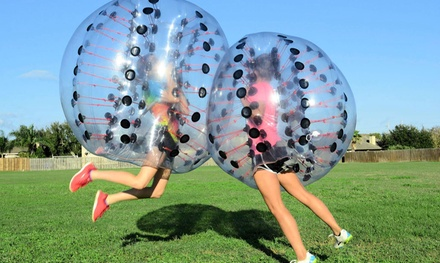 $30 for Two Games of Bubble Soccer for a Team of Five–Eight at Corpus Christi Bubble Soccer ($50 Value)