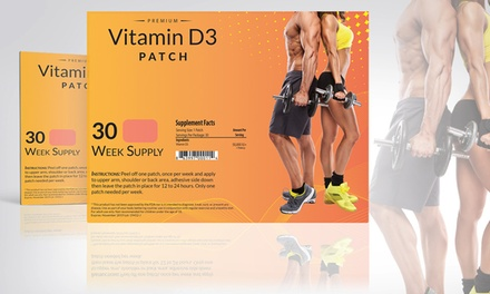 VitaPatch Vitamin D3 Patches (30-Week Supply)