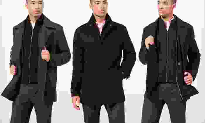 Kenneth Cole Men's Coats: Kenneth Cole Men's Melton Coats (76% Off). 20 Options Available. Free Shipping and Free Returns.