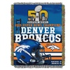 Denver Broncos Super Bowl 50 Champions Tapestry Throw