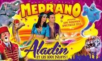 1 place en tribune dhonneur pour lune des représentations de « Aladin et les 1001 nuits » du cirque Medrano à 10 €