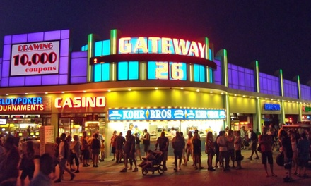 $30.99 for a Visit for Two to Gateway 26 Casino ($65 Value)