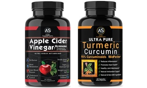 Angry Supplements Apple Cider Vinegar &Turmeric Supplements (120-Ct.) at Angry Supplements Apple Cider Vinegar &Turmeric Supplements (120-Ct.), plus 6.0% Cash Back from Ebates.