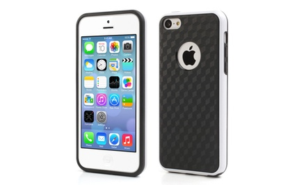 3D Cube Shock-Absorbing Hybrid Case for iPhone 5c
