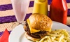 Jack's Drive In - Spruce Grove: C$15 for a Burger Meal for Two with Sides and Large Sodas at Jack's Drive-In (Up to a C$30.34 Value)