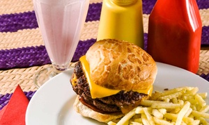 Jack's Drive-In: CC$17 for a Burger Meal for Two with Sides and Large Sodas at Jack's Drive-In (Up to a CC$30.34 Value)
