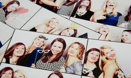 $330 for Two-Hour Photo Booth or #Hashtag Printer Station Rental from Vintage Photography ($550 Value)