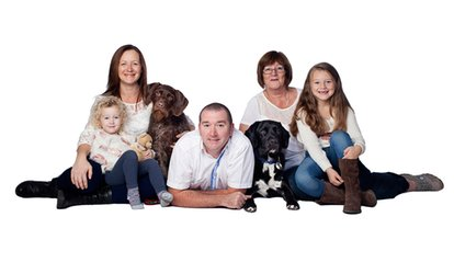 image for  Family Photoshoot With Five Prints and Two Key Rings from Adrian Bullers Photography (Up to 93% Off)