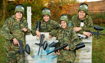 Paintball Outing for 2, 4, or 10 with Equipment Rental and Paintballs at Paintball Bonanza Houston (Up to 56% Off)