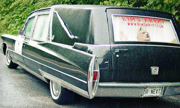 Kim's Krypt - Essex: Krypt-Dependence Event for Two or Four, Birthday Party Package, or Hearse Rental at Kim's Krypt in Essex (Up to 60% Off)