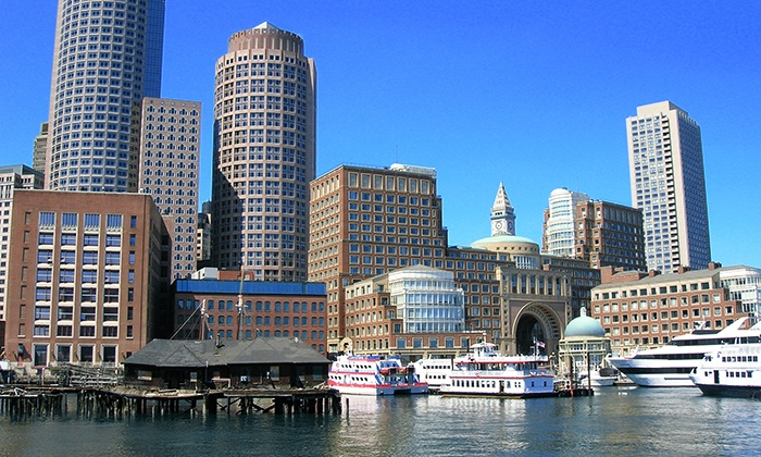 Boston Green Cruises - Boston Green Cruises: Sunset Harbor Cruise for Two from Boston Green Cruises (Up to 50% Off). Morning and Afternoon Also Available.