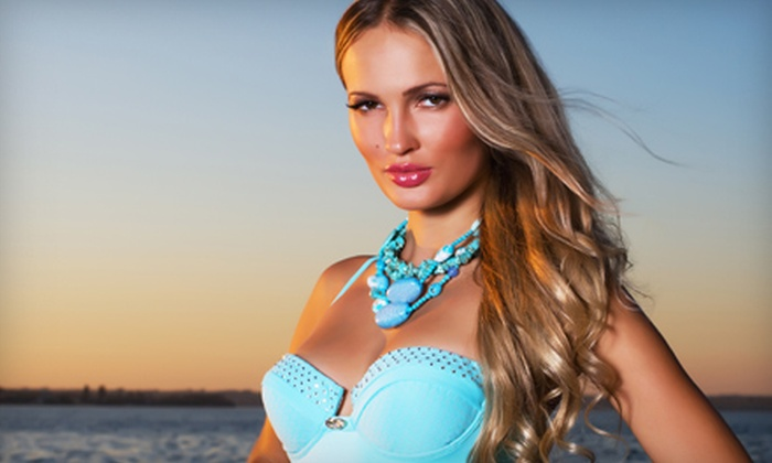 Avenir Salon - McKinney: One, Three, or Five Airbrush Spray Tans at Avenir Salon (Up to 73% Off)