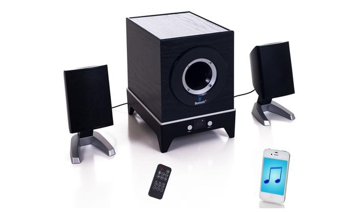Northwest Bluetooth Multimedia 2.1-Channel Speaker System: $49.99 for a Northwest Bluetooth Multimedia 2.1-Channel Speaker System ($139.98 List Price). Free Shipping and Returns.