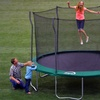 Propel 12-Foot Trampoline with Enclosure and Ladder