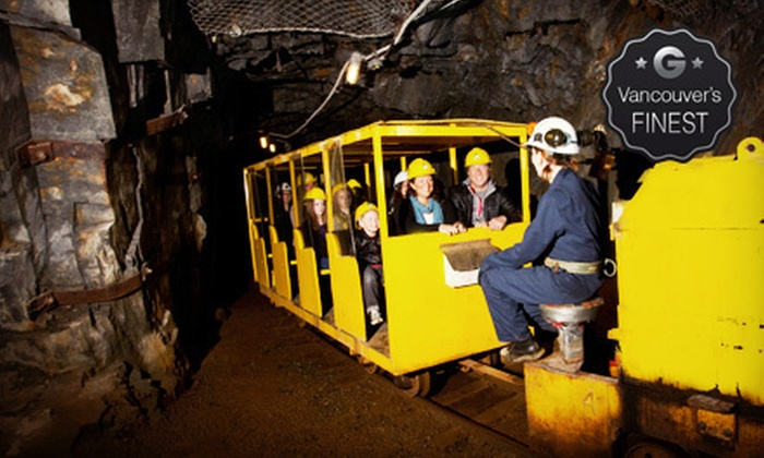 Britannia Mine Museum - Britannia Beach: Museum Visit for One, Two, or a Family of Up to Five at the Britannia Mine Museum (Up to 54% Off)