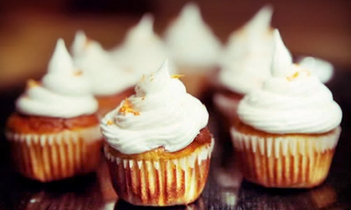BellyHugs - Hollywood: Bread or Muffins, 12 Regular or 24 Mini Cupcakes, or 24 Regular Cupcakes at BellyHugs in Hollywood (Up to 59% Off)