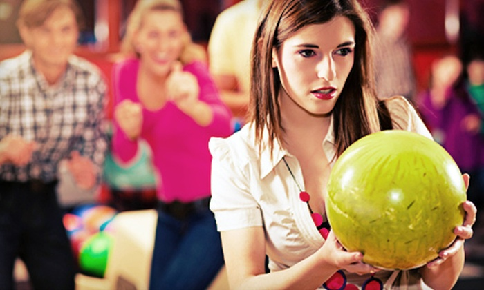 Broken Arrow Lanes - Broken Arrow: $20 for a Two-Game Bowling Outing for Four with Shoe Rental and Soda at Broken Arrow Lanes (Up to $50.48 Value)