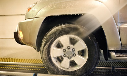 Five Express Car Washes or Five Works Car Washes at Brad's Car Wash (Up to 50% Off)