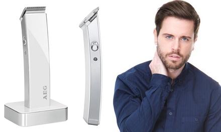 Rasoio elettrico AEG HSM/R 5638 per barba e capelli