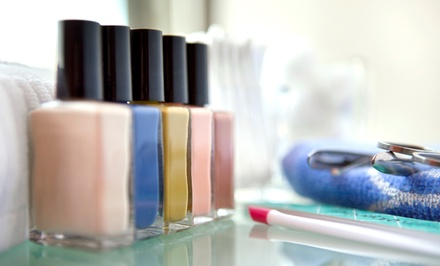 One or Two Traditional Mani-Pedis at Styling Bella Beauty Lounge (Up to 57% Off)