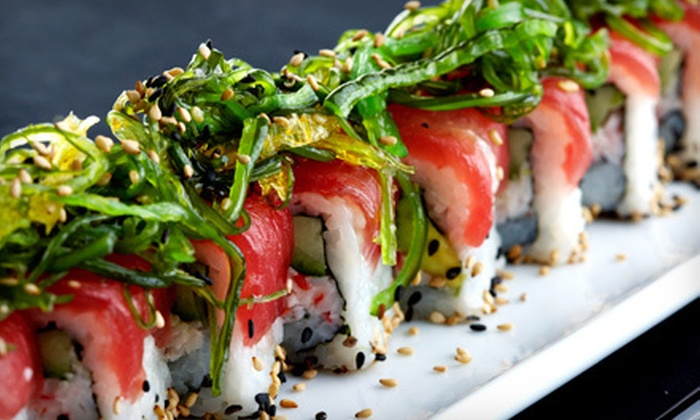Lemon Grass Thai Cuisine & Sushi Bar - Knoxville: Thai Cuisine and Sushi for Lunch or Dinner at Lemon Grass Thai Cuisine & Sushi Bar (Half Off)