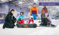 Two- or Three-Hour Ski or Snowboard Lesson for One or Two at SnowDome (Up to 53% Off)