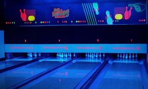 New Bowling: Desde $149 por 2 o 4 líneas de bowling + pizza grande + cerveza de litro o gaseosas para dos o cuatro en New Bowling