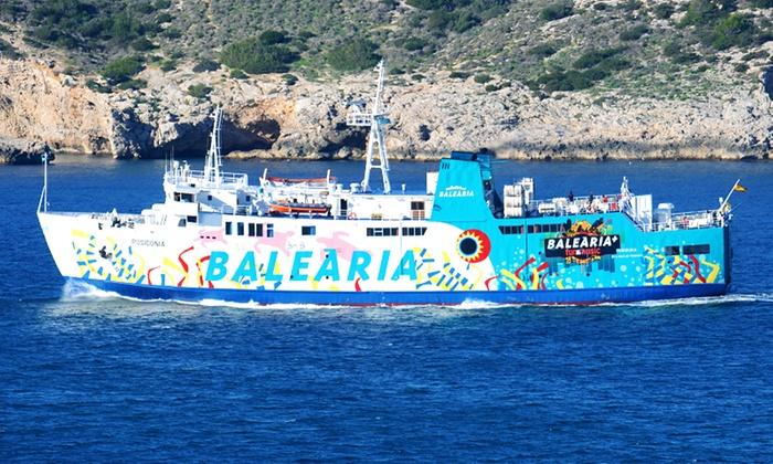 Balearia en groupon getaways for Oficina balearia ibiza