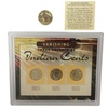 Three Decades of Indian Cents Collection (3-Piece) with Buffalo Nickel
