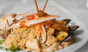 Ristorante del Borgo: Menu di pesce con bottiglia di vino (sconto fino a 60%)