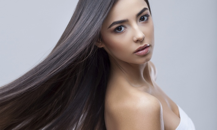 Salon Packages or Keratin Treatments at MC Hair Concepts (Up to 66% Off). Six Options Available.