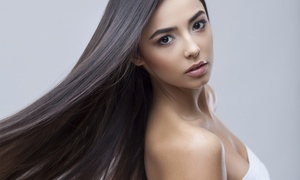 Tru Salon & Spa: $157 for Brazilian Blowout/Keratin Treatment with Haircut at Tru Salon & Spa ($350 Value)