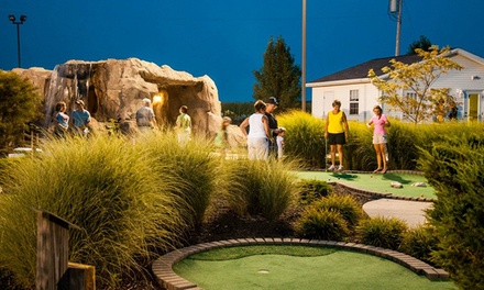 18 Holes of Mini Golf for Up to Four or Eight Adults at Adventure Cove (Up to 50% Off)