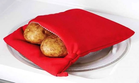 Sacco da microonde per cuocere le patate e hot dog