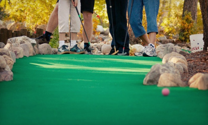 Eko Backen - Chisago Lake: Fall-Themed Mini Golf with Caramel-Apple Sundaes for Two, Four, or Six at Eko Backen (Up to 57% Off)
